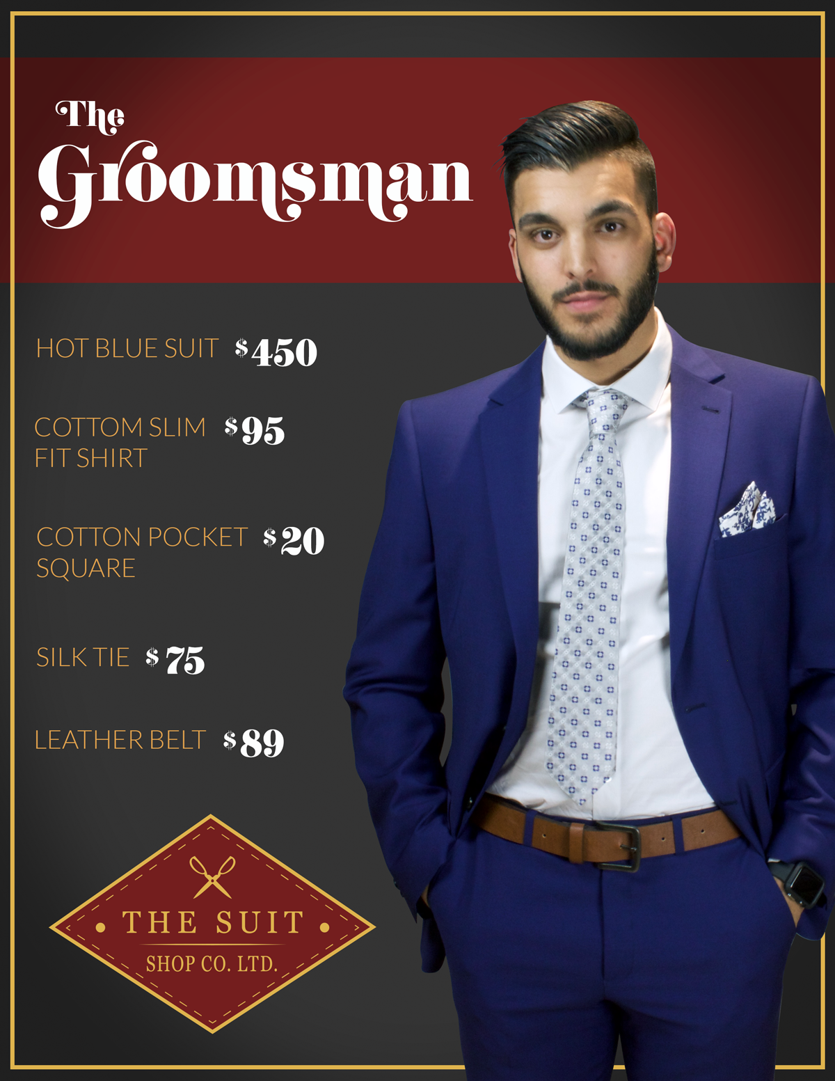 Featured Outfit: THE GROOMSMAN