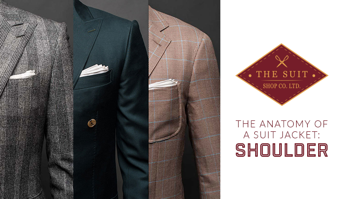 The Anatomy of a Suit Jacket: Shoulders