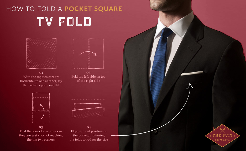 Pocket Square TV Fold